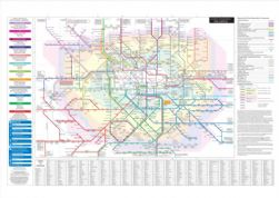 London Connections (Tube and Rail services) Digital Print
